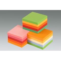 Kockatömb 9x9x5 cm ragasztott intenzív színek