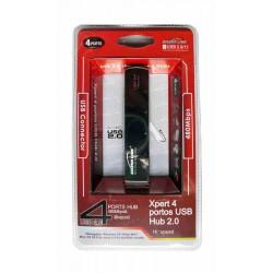 USB elosztó Hub Silverline SL-004H USB 4 portos