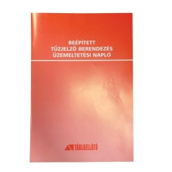 Beépített tűzjelző készülék üzemeltetési napló