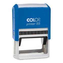 Szövegbélyegző Printer 55 kék ház 40x60 mm