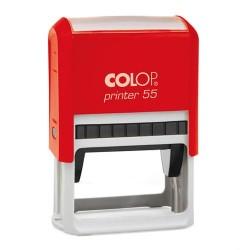 Szövegbélyegző Printer 55 piros ház 40x60 mm