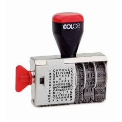 Dátumbélyegző 04000/WD hagyományos szalagos 4 mm