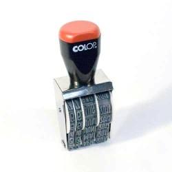 Colop Dátumbélyegző 09000 hagyományos szalagos hagyományos szalagos 9 mm