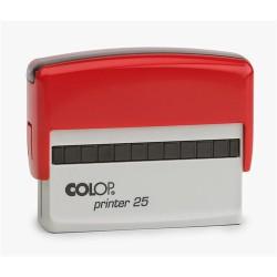 Szövegbélyegző Printer 25 piros ház 15x75 mm