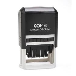 Colop Printer 54 Dátum kék párnával