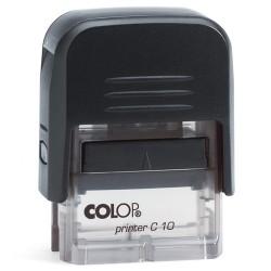 Szövegbélyegző Printer C10 átlátszó ház 10x27 mm