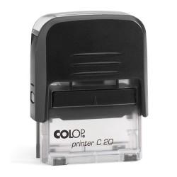 Colop Szövegbélyegző Printer C20 átlátszó ház 14x38 mm