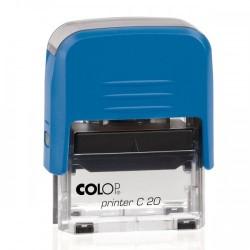 Colop Szövegbélyegző Printer C20 kék ház 14x38 mm