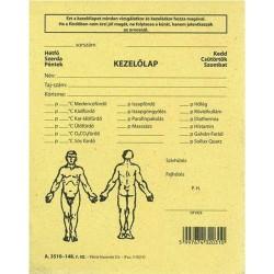 Reuma kezelőlap 118x150 mm