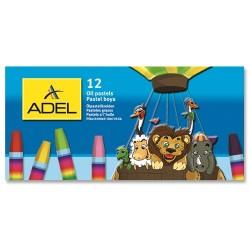 Olajpasztell Adél hatszögletű 12 db-os klt.