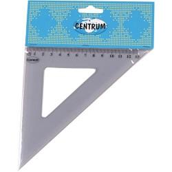 Vonalzó Centrum háromszög 45 fokos 13 cm csomagolt