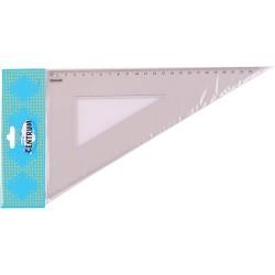 Vonalzó Centrum háromszög 60 fokos 23 cm csomagolt
