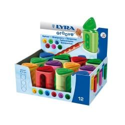 Hegyező Lyra Groove 2 lyukú