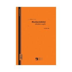 Munkavédelmi oktatási napló 24 lapos füzet A/4 álló