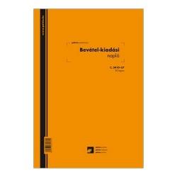 Bevétel-kiadás napló 20 lapos füzet A/4 álló