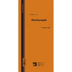 Munkanapló 100 lapos könyv