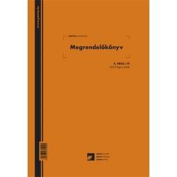 Megrendelőkönyv 50x3 lapos tömb A/4 álló