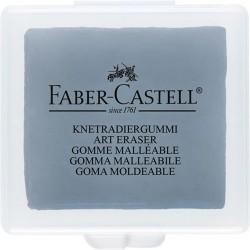Radír Faber-Castell gyurma műanyag dobozban szürke