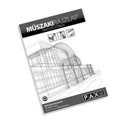 Rajzlap famentes Pax A/4 180g műszaki 20 lap/csomag