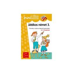 Foglalkoztató füzet MiniLÜK Játékos német 3