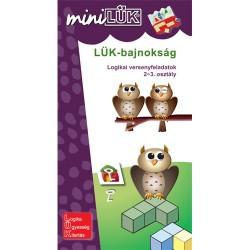 Foglalkoztató füzet LÜK Bajnokság versenyfekadatok matematikából 2. oszt.