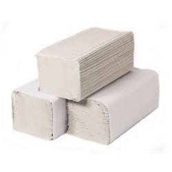 Kéztörlő közületi Handy Pack Z hajtogatott 2 rétegű fehér 200 lap/csomag