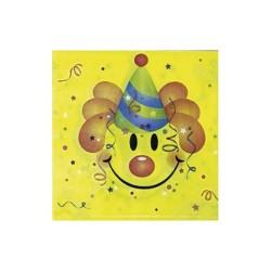 Szalvéta 33x33 cm 2 rétegű 12 db/csomag Smiley