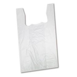 Ingvállas tasak kicsi fehér 280 /34x28 cm/