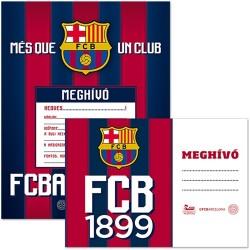 Meghívó Ars Una Party borítékkal 10 szett/csomag Barcelona
