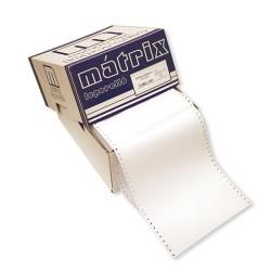 Leporelló MATRIX 158x12 coll 2 példányos 6 collonként perforált 1800 garn./doboz