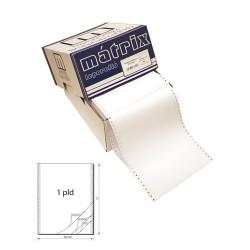 Leporelló MATRIX 240x12 coll 1 példányos 6 collonként perforált 1800 ív/doboz