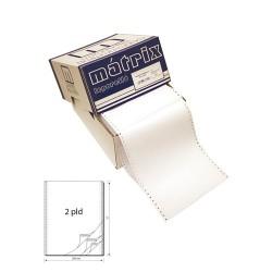 Leporelló MATRIX 240x12 coll 2 példányos 6 collonként perforált 900 garn./doboz