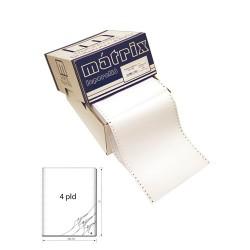 Leporelló MATRIX 240x12 col 4 példányos lapszámozott 450 garn./doboz