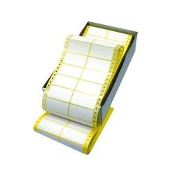 Etikett címke kétpályás 89x35 8000 db/doboz