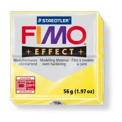Kreatív kiégethető gyurma Fimo Effect 56g transzparens citrom