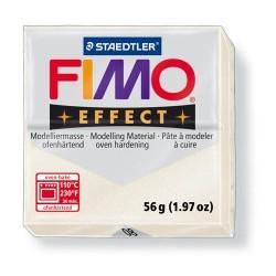 Kreatív kiégethető gyurma Fimo Effect 56g metálgyöngyház