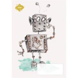 Füzet pd kisalakú 14-32 vonalas robot