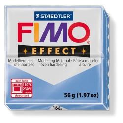 Kreatív kiégethető gyurma Fimo Effect 56g áttetsző/gyöngyház achát kék