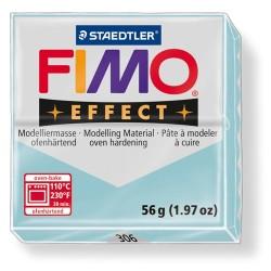 Kreatív kiégethető gyurma Fimo Effect 56g áttetsző/gyöngyház jégkék kvarc
