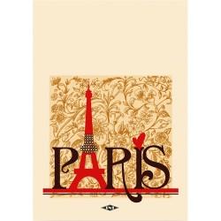 Spirálfüzet pd A/5-70 lapos kockás Párizs