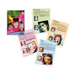 Foglalkoztató füzet arcfestés lépésről lépésre