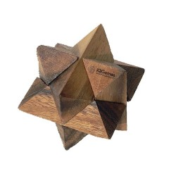 Játék IQGames logikai fa Star Puzzle