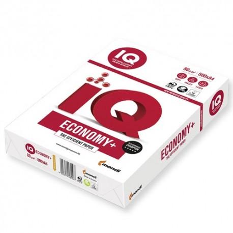Másolópapír IQ Economy+ A/4 80g 500 ív/csomag