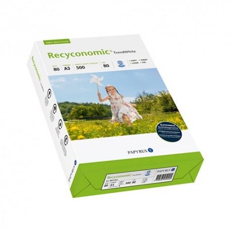 Másolópapír Recyconomic Trend White W80 A/3 80g 500 ív/csomag