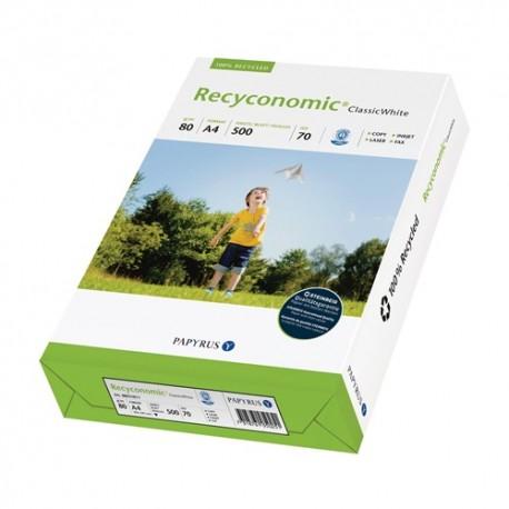Másolópapír Recyconomic Classic White W70 A/4 80g 500 ív/csomag