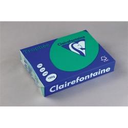 Másolópapír színes Clairefontaine Trophée A/3 160g intenzív sötétzöld 250 ív/csomag (1046)