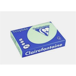 Másolópapír színes Clairefontaine Trophée A/3 80g pasztellzöld 500 ív/csomag (1882)