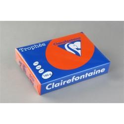 Másolópapír színes Clairefontaine Trophée A/4 160g intenzív lángvörös 250 ív/csomag (1765)