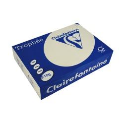 Másolópapír színes Clairefontaine Trophée A/4 210g pasztell krém 250 ív/csomag (2204)