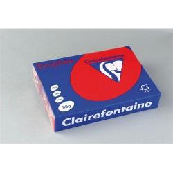 Másolópapír színes Clairefontaine Trophée A/4 80g intenzív vörös 500 ív/csomag (1782)